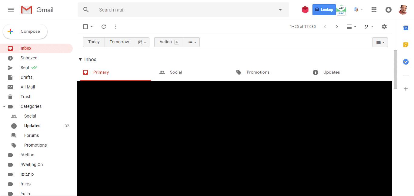 ג'ימייל, ג'ימייל גרסה חדשה, ג'ימייל 2018